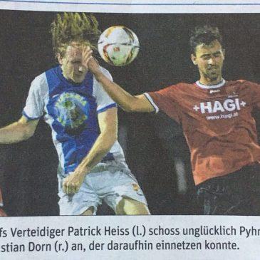 +HAGI+ als Sponsor des SC Schaubach Pyhra