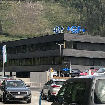Besuch am Tag der offenen Tür bei GF Casting Solutions Altenmarkt GmbH & Co. KG