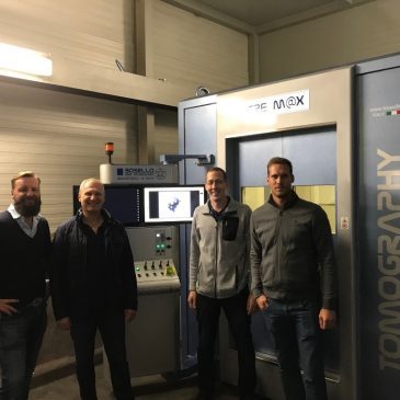 Karl Fink GmbH:  Commissioning of the new X-Ray system
