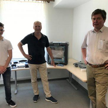 HAGI 3D Druck Demo Anlage                                                 – vom Scan bis zum gedruckten Bauteil
